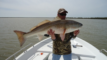 Tim and 32 lbs bullred