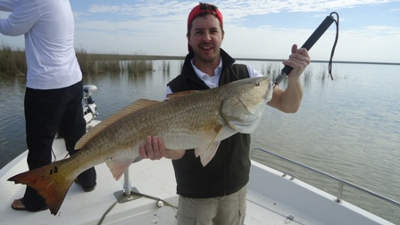 venice louisiana redfishing